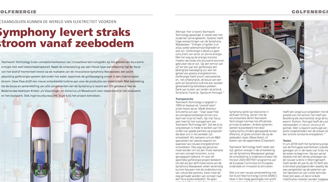 Symphony article in Ocean Energy Resources